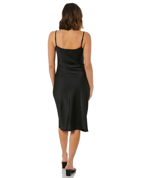 BLACK WOMENS CLOTHING THE HIDDEN WAY DRESSES - H8222450BLK
