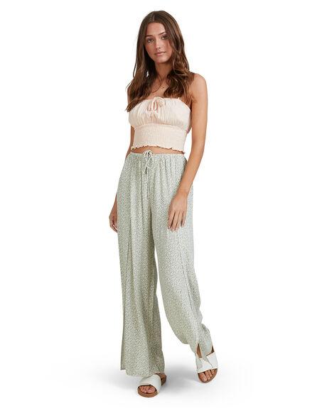MINT WOMENS CLOTHING BILLABONG PANTS - 6513431-MNT