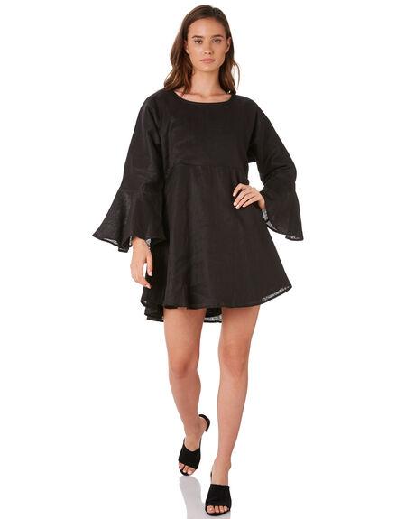 BLACK WOMENS CLOTHING ZULU AND ZEPHYR DRESSES - ZZ2885BLACK