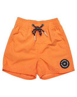 ORANGE KIDS TODDLER BOYS BILLABONG BOARDSHORTS - 7582402ORG