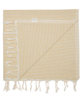 MINT MUSTARD WOMENS ACCESSORIES MAYDE TOWELS - 19NOOSAMMMM