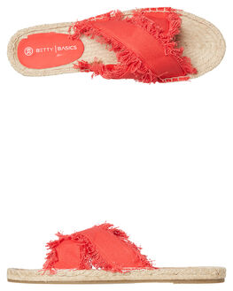 BOLD RED WOMENS FOOTWEAR BETTY BASICS FASHION SANDALS - BB922S18RED