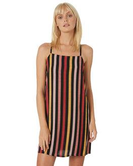 MULTI WOMENS CLOTHING VOLCOM DRESSES - B1331908MLT