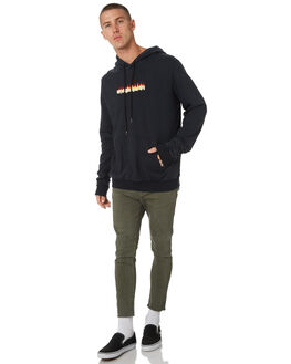 ULTRA BLACK MENS CLOTHING THE PEOPLE VS JUMPERS - AW19080ULBLK
