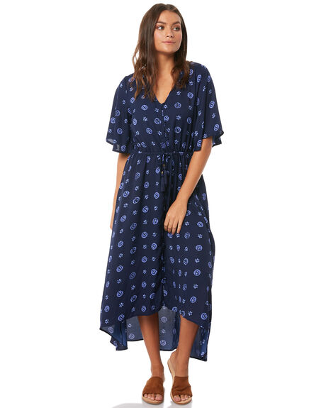 INDIGO DOT WOMENS CLOTHING O'NEILL DRESSES - 4721604-IDD