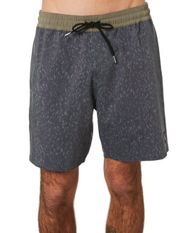 BLACK MENS CLOTHING VOLCOM BOARDSHORTS - A2541902BLK