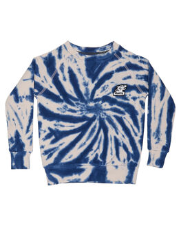 BLUE TYE DYE KIDS TODDLER BOYS MUNSTER KIDS JUMPERS - MK172FL04BLU