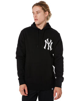 YANKEES BLACK MENS CLOTHING MAJESTIC JUMPERS - MNY7023DBBLK