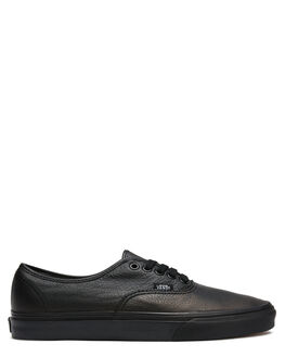 BLACK WOMENS FOOTWEAR VANS SNEAKERS - SSVN000JRAL3BBLKW