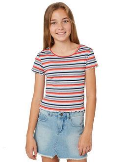 MULTI STRIPE KIDS GIRLS EVES SISTER TOPS - 9520030STR
