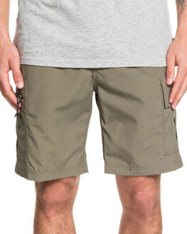 DUSTY OLIVE MENS CLOTHING QUIKSILVER SHORTS - EQMWS03108-GPB0