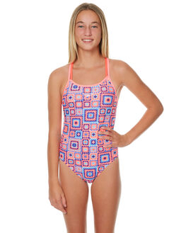 NANAS SQUARE KIDS GIRLS SPEEDO SWIMWEAR - 42W26-6539