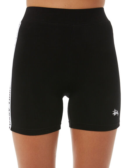 BLACK WOMENS CLOTHING STUSSY ACTIVEWEAR - ST185606BLK