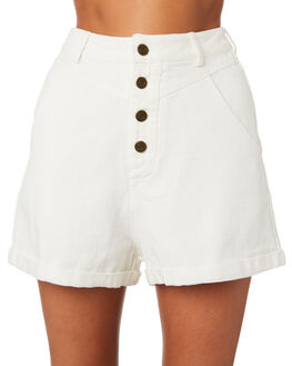 OFF WHITE WOMENS CLOTHING THE HIDDEN WAY SHORTS - H8201197OFFWH