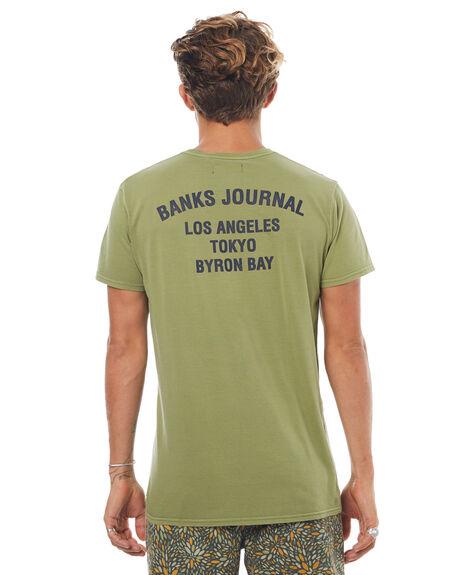 MOSS MENS CLOTHING BANKS TEES - WTS0204MOS