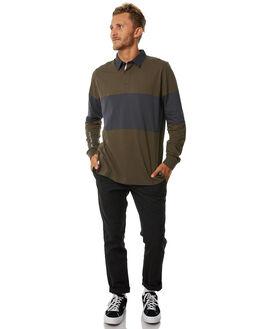 DUSTY OLIVE MENS CLOTHING GLOBE SHIRTS - GB01713004DOL