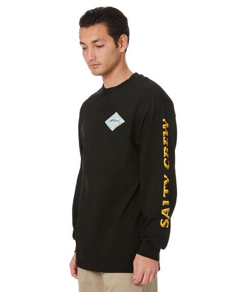 BLACK MENS CLOTHING SALTY CREW TEES - 20135178BLK