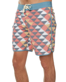 RED MENS CLOTHING REEF BOARDSHORTS - A2YCMRED