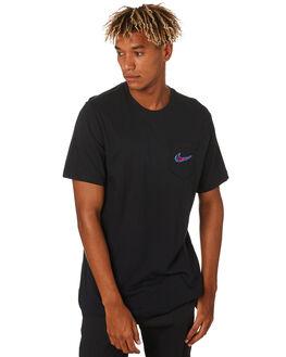 BLACK MENS CLOTHING NIKE TEES - CD2099010
