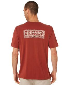BRICK MENS CLOTHING MOLLUSK TEES - MS1889BRK