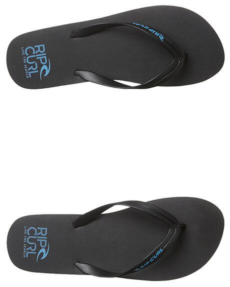 BLACK BLACK BLUE MENS FOOTWEAR RIP CURL THONGS - TMT4981404