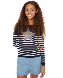 NAVY KIDS GIRLS EVES SISTER JUMPERS - 9990092NAVY