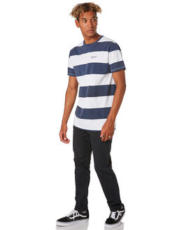 WHITE MENS CLOTHING RIP CURL TEES - CTEVM21000