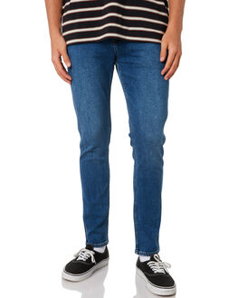 TNT BLUE MENS CLOTHING WRANGLER JEANS - W-901480-KS3TNTB