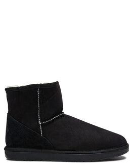 BLACK WOMENS FOOTWEAR UGG AUSTRALIA UGG BOOTS - SSMINBLKW