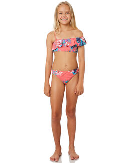 BRUSH PINK SUN CHAS KIDS GIRLS ROXY SWIMWEAR - ERGX203183XMGB
