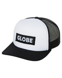 WHITE MENS ACCESSORIES GLOBE HEADWEAR - GB71919003WHI