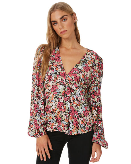 MULTI WOMENS CLOTHING MINKPINK FASHION TOPS - MP2002406MULTI