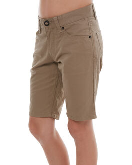 BEIGE KIDS BOYS VOLCOM SHORTS - C0931700BGE