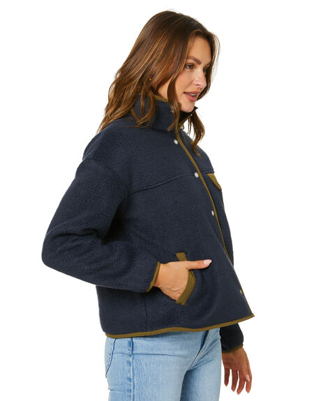 AVIATOR NAVY WOMENS CLOTHING THE NORTH FACE JACKETS - NF0A3YSFY81