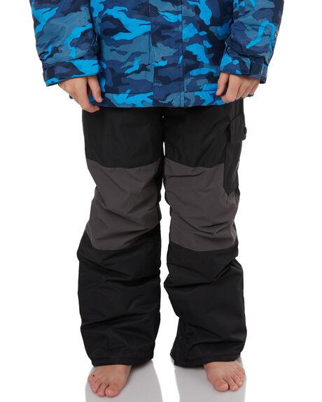 BLACK SNOW OUTERWEAR BILLABONG PANTS - F6PB02BLK