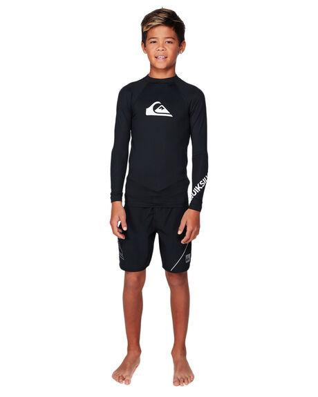 BLACK BOARDSPORTS SURF QUIKSILVER BOYS - UQBWR03057-KVJ0