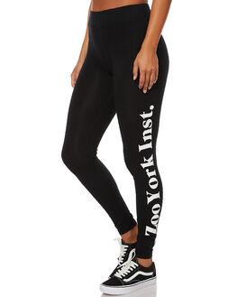 BLACK WOMENS CLOTHING ZOO YORK PANTS - ZY-WPA7194BLK