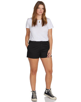 BLACK WOMENS CLOTHING VOLCOM SHORTS - B0911800PBLK