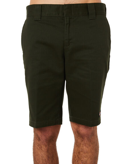 OLIVE GREEN MENS CLOTHING DICKIES SHORTS - WR872OGRN