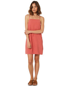 RED WOMENS CLOTHING RUSTY DRESSES - DRL0937RED