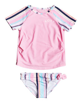 PRISM PINK KIDS GIRLS ROXY SWIMWEAR - ERLWR03131-MEQ3