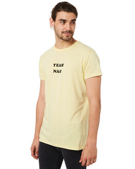 YELLOW MENS CLOTHING ROLLAS TEES - 15440510