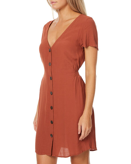 RUST WOMENS CLOTHING SWELL DRESSES - S8172442RUST