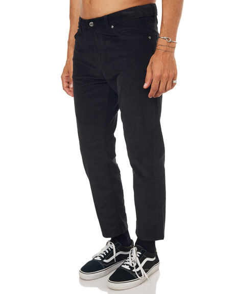 BLACK CORD MENS CLOTHING DR DENIM JEANS - 1630114-102