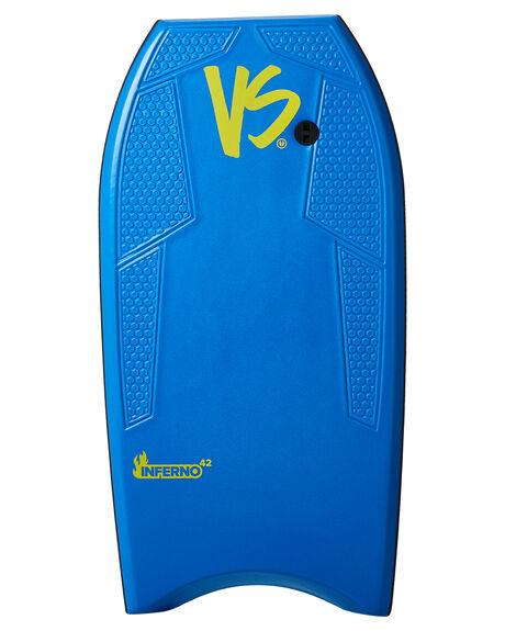 LIGHT BLUE YELLOW BOARDSPORTS SURF VS BODYBOARDS BODYBOARDS - VSINFERNOLBLUY