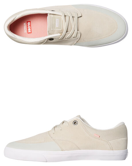LIGHT GREY OUTLET MENS GLOBE SNEAKERS - GBCHASE-14092