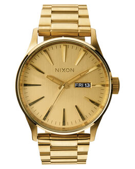 ALL GOLD BLACK MENS ACCESSORIES NIXON WATCHES - A356-3192