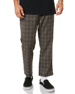 BROWN MENS CLOTHING STUSSY PANTS - ST005606BRWN