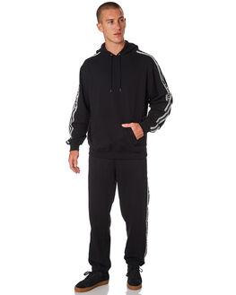 BLACK MENS CLOTHING POLAR SKATE CO. JUMPERS - PSC-TAPEBLK