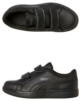 BLACK KIDS TODDLER BOYS PUMA FOOTWEAR - 36517301BLK